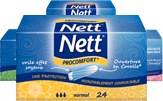 Tampons sans applicateur NETT® PROCOMFORT®