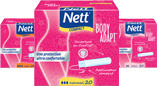 Tampons avec applicateur NETT® BODY ADAPT®